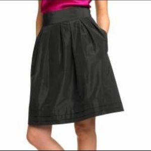Banana Republic black tafetta skirt, size 8